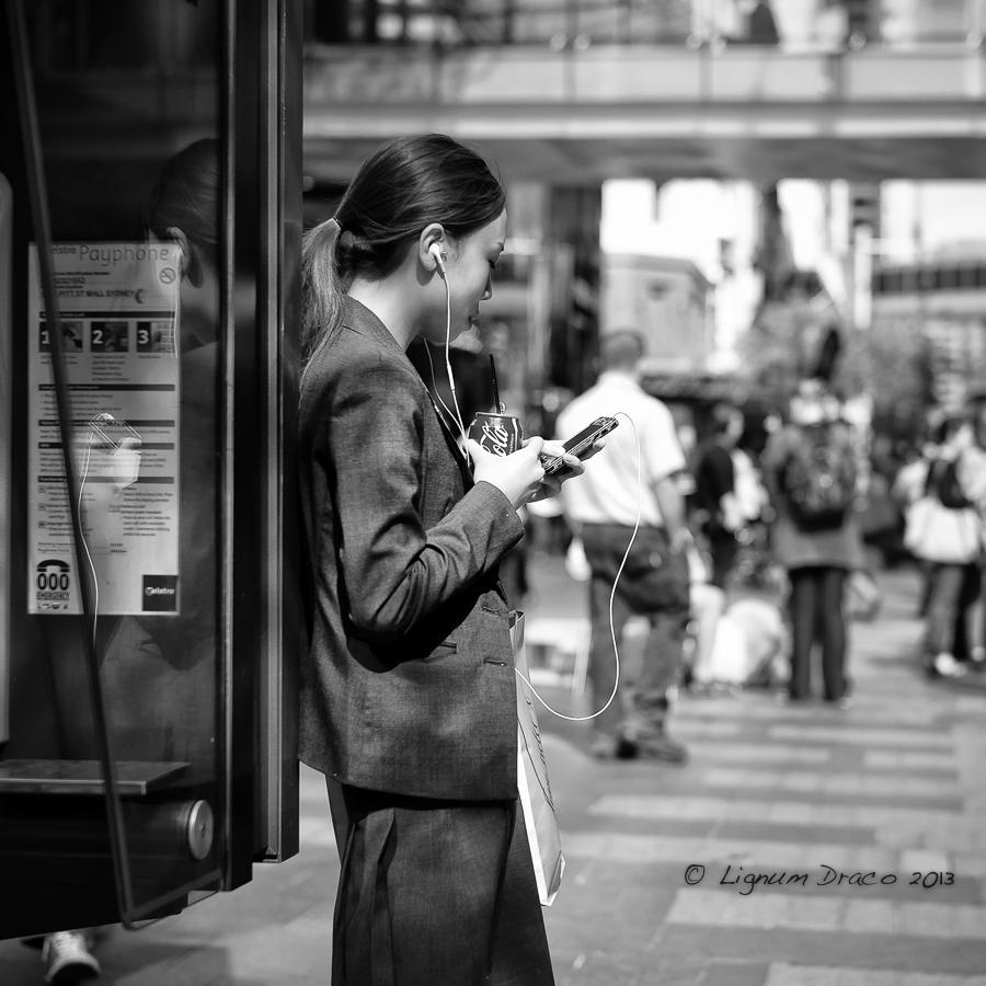 girl reflecting crop